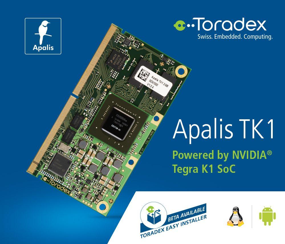 Explore our powerful #NVIDIA® Tegra K1 based SoM, Apalis TK1  This