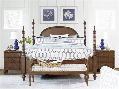 Paula Deen Home Dogwood Low Tide Poster Bed Bedroom Set