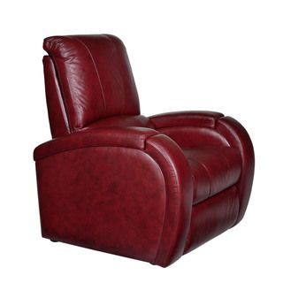 Opulence Home Monte Carlo Leather Power Recliner   Overstock.com 949