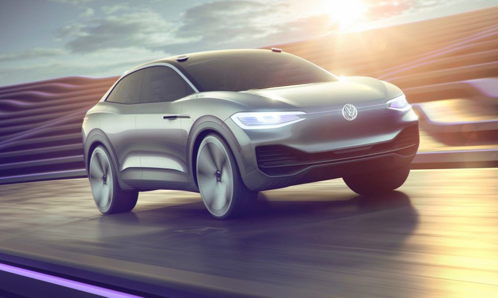 Volkswagen Previews I D Crozz Its 2020 Electric Suv Volkswagen Electric Crossover Car