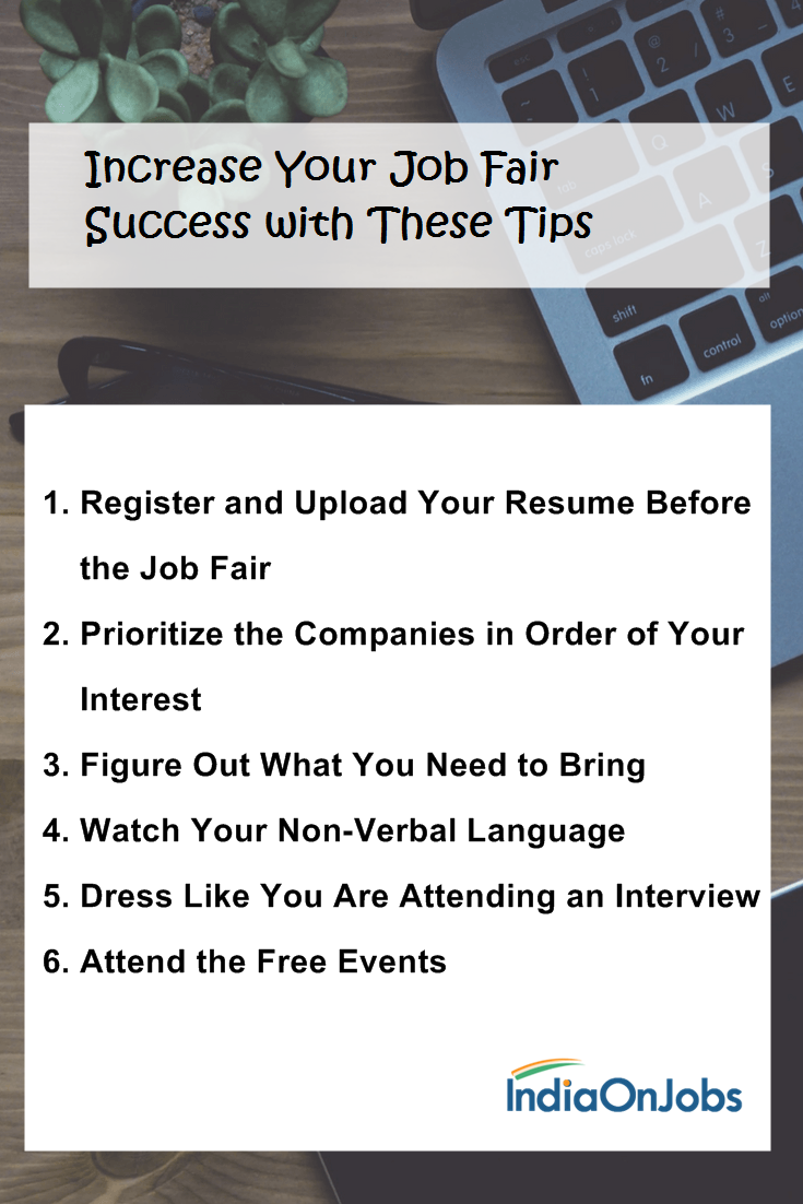 Increase Your Job Fair Success With These Tips Free Job Posting Job Free Online Jobs