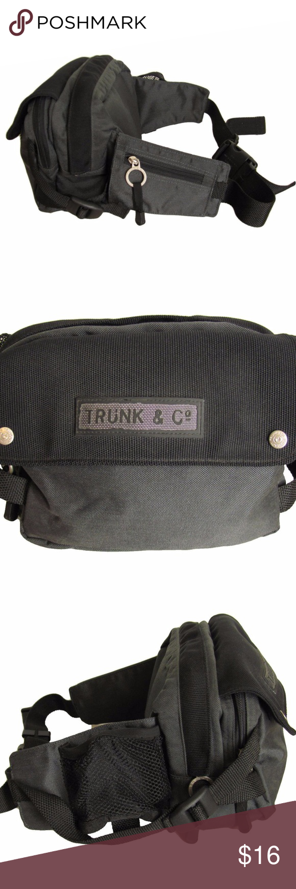 Samsonite Trunk En Co.Samsonite Trunk Co Waist Pack Black Gray Large Trunk Co By