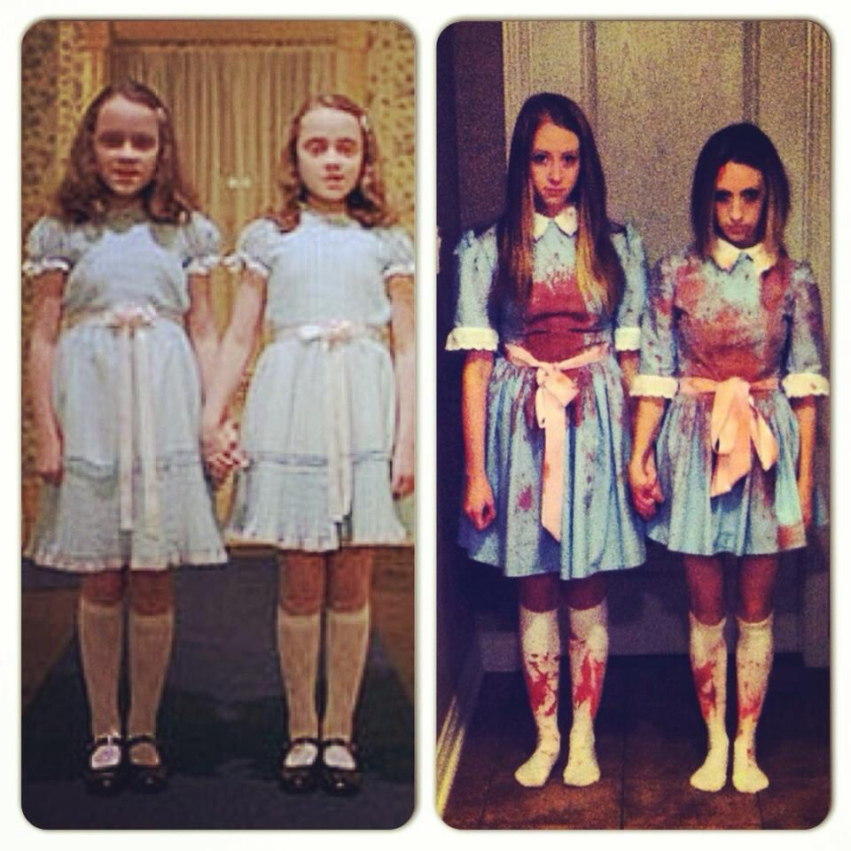 grady twins best friend halloween costume idea - Best Friends Halloween Ideas