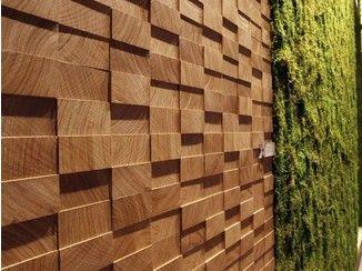 3d Wandpaneel Aus Holz Safari Menotti Specchia Holzwandgestaltung 3d Wandplatten Wandverkleidung