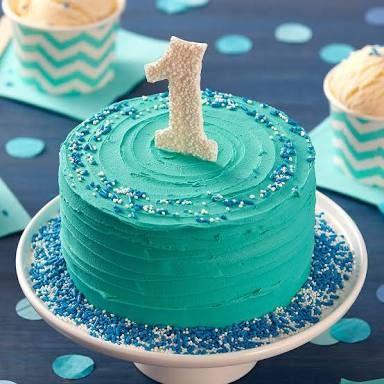 Simple 1st Birthday Cakes Google Search Baby Boy Birthday Cake