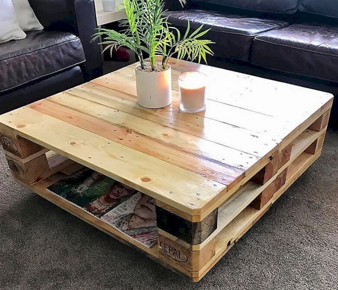 12 Marvelous Wood Pallet Furniture You Can Build Yourself #woodpalletfurniture