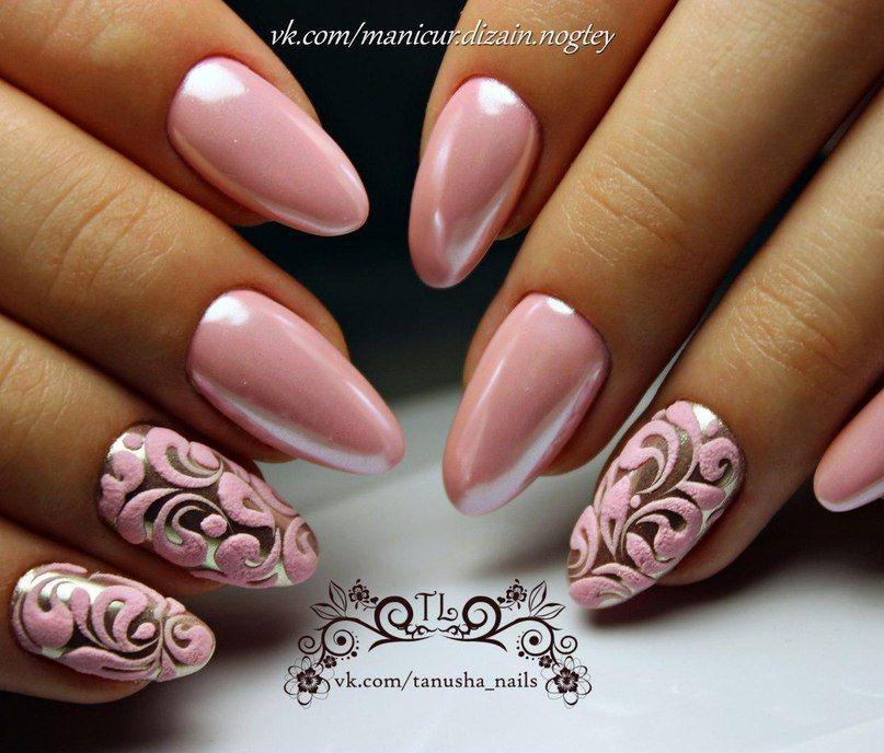 маникюр - дизайн ногтей | Nails | Pinterest | Manicure, Nail nail ...