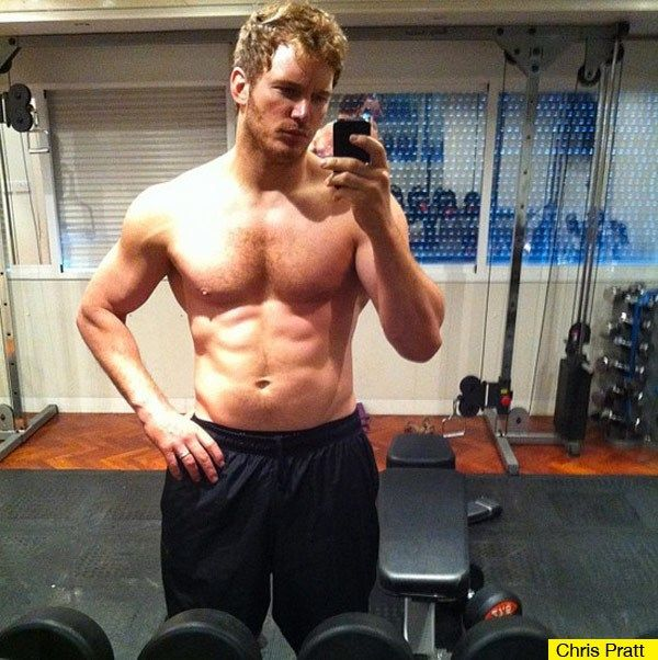 Chris Pratt Shirtless — Wow! The