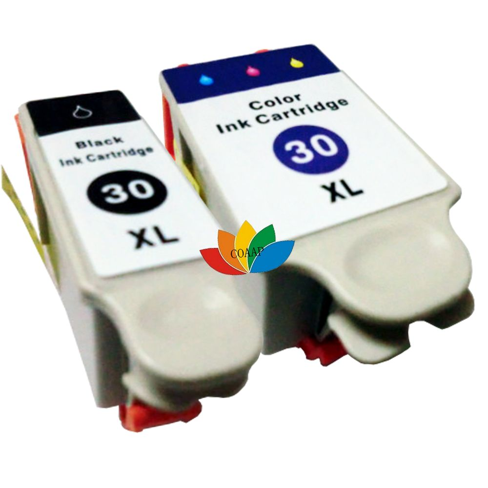 2 Compatible Ink Cartridges For Kodak 30 ESP 315 Office 2150 2170 Printer