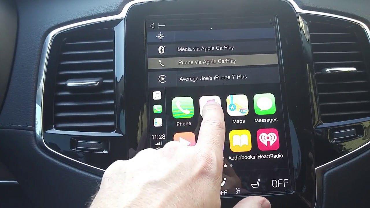 Apple Carplay Volvo Xc90 2018 And Sensus Apple Car Play Carplay Volvo Xc90