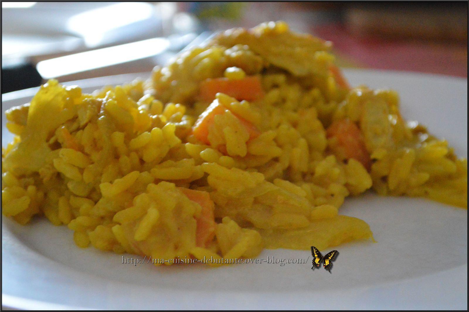 Recette fait avec le Cookeo Connect Avis perso  humm on adore ;,) une  tuerie ;,) si vous voulez le riz moins cuit réduisez le temps de cuisson.