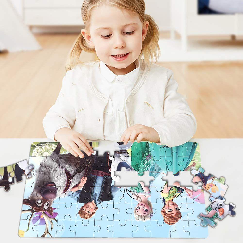 d21df5622 Amazon.com: ZCF Ying Xu Disney 60 Piece Cute Jigsaw Puzzle Toys for Kid