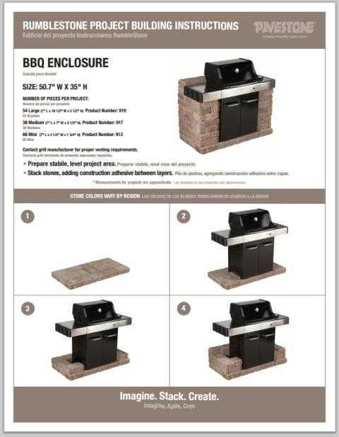DIY Grill Surround #grill #outdoorkitchens #DIY Repins And Pins By Http:/