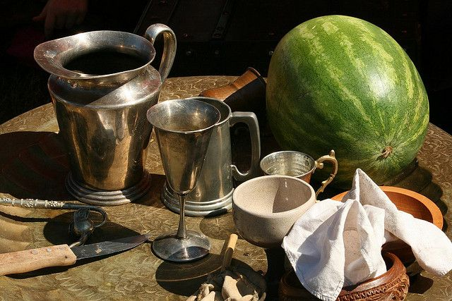 Medieval Table Setting | Medieval