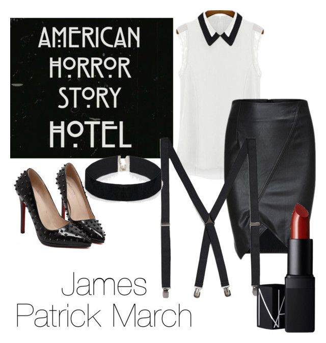 Ahs hotel james patrick march by sarahbayley liked on for Ahs hotel decor