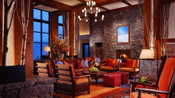 Lobby Stowe Mountain Lodge In Vermont Via Luxurylink Com