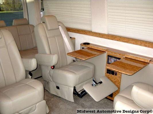 Sprinter Van Conversion Leg Lift