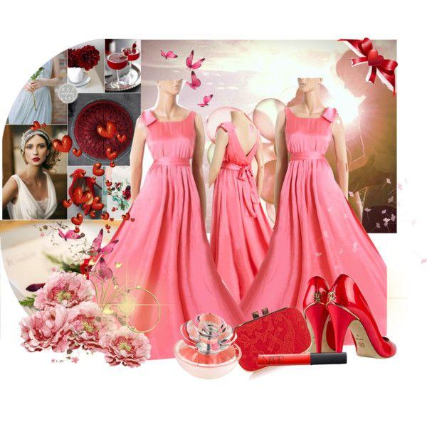 """Bridesmaid dress 2014"" by uptodatefashion-julia on Polyvore"