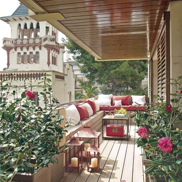 10 ideas geniales para recibidores peque os terrazas for Patios exteriores pequenos