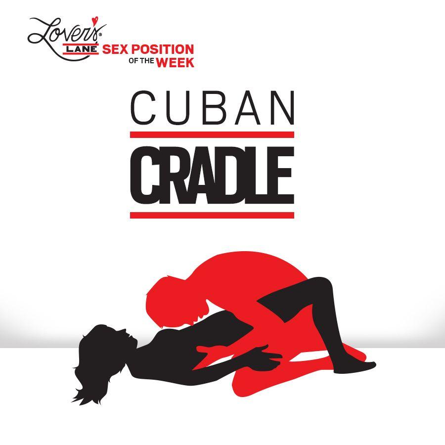 Cradle sex position