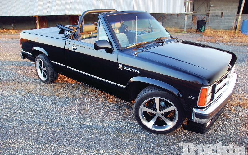 1989 Dodge Dakota Se Convertible Pickup Truck This Model Was Ahead Of Its Time