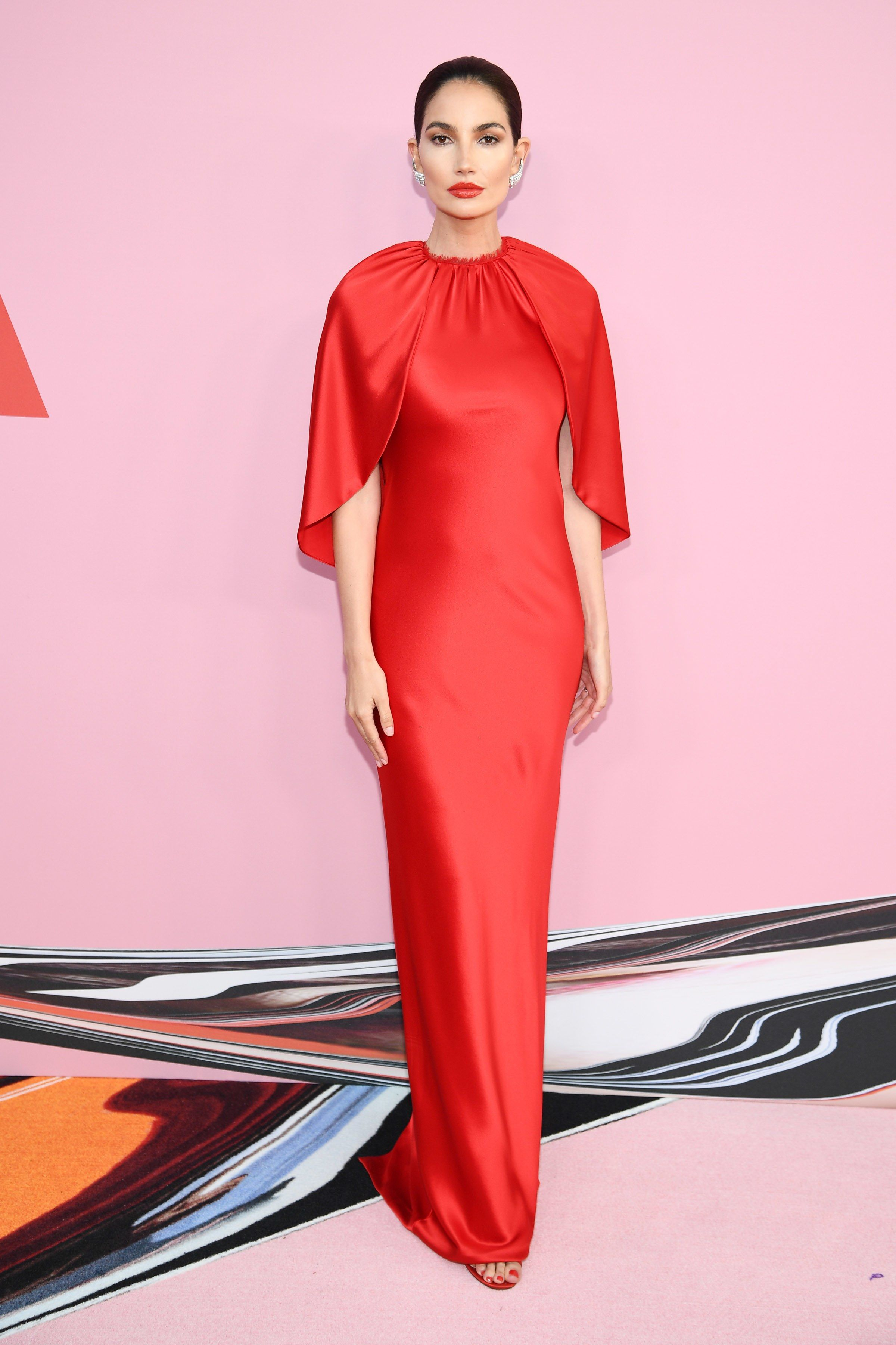 Cfda Awards 2019 Fashion Live From The Red Carpet Fashion Cfda Awards Lily Aldridge