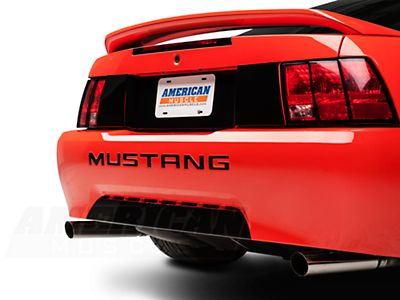 FORD MUSTANG REAR BUMPER INSERT DECALS VINYL LETTERS 99-04 33