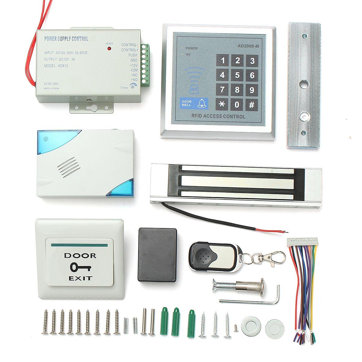 RFID Sistema de control de acceso a la puerta Tarjeta de