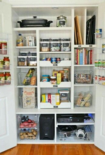 from closet to pantry rangements malins pinterest rangement garde manger et maison. Black Bedroom Furniture Sets. Home Design Ideas