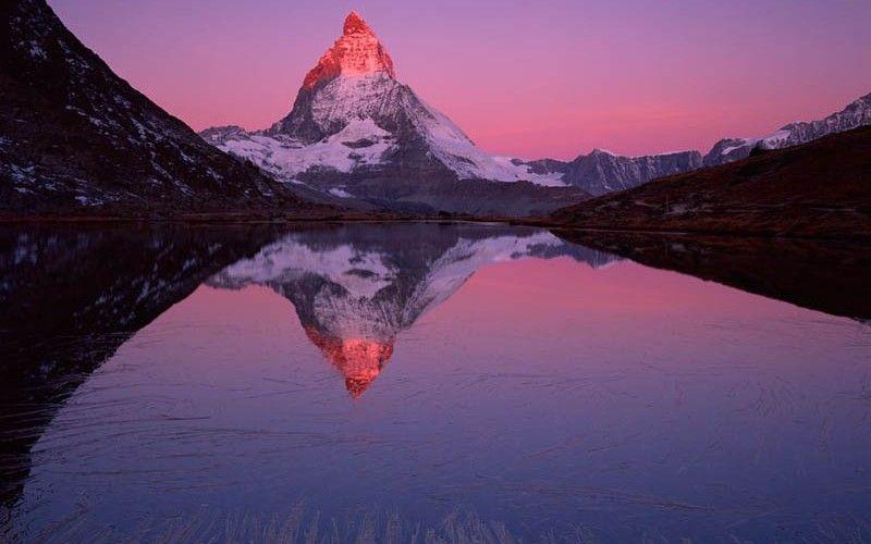 The Mighty Matterhorn, photo credit to Verena Popp-Hackner.