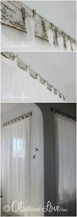 Olive And Love Creative Way To Hang Curtains Fun