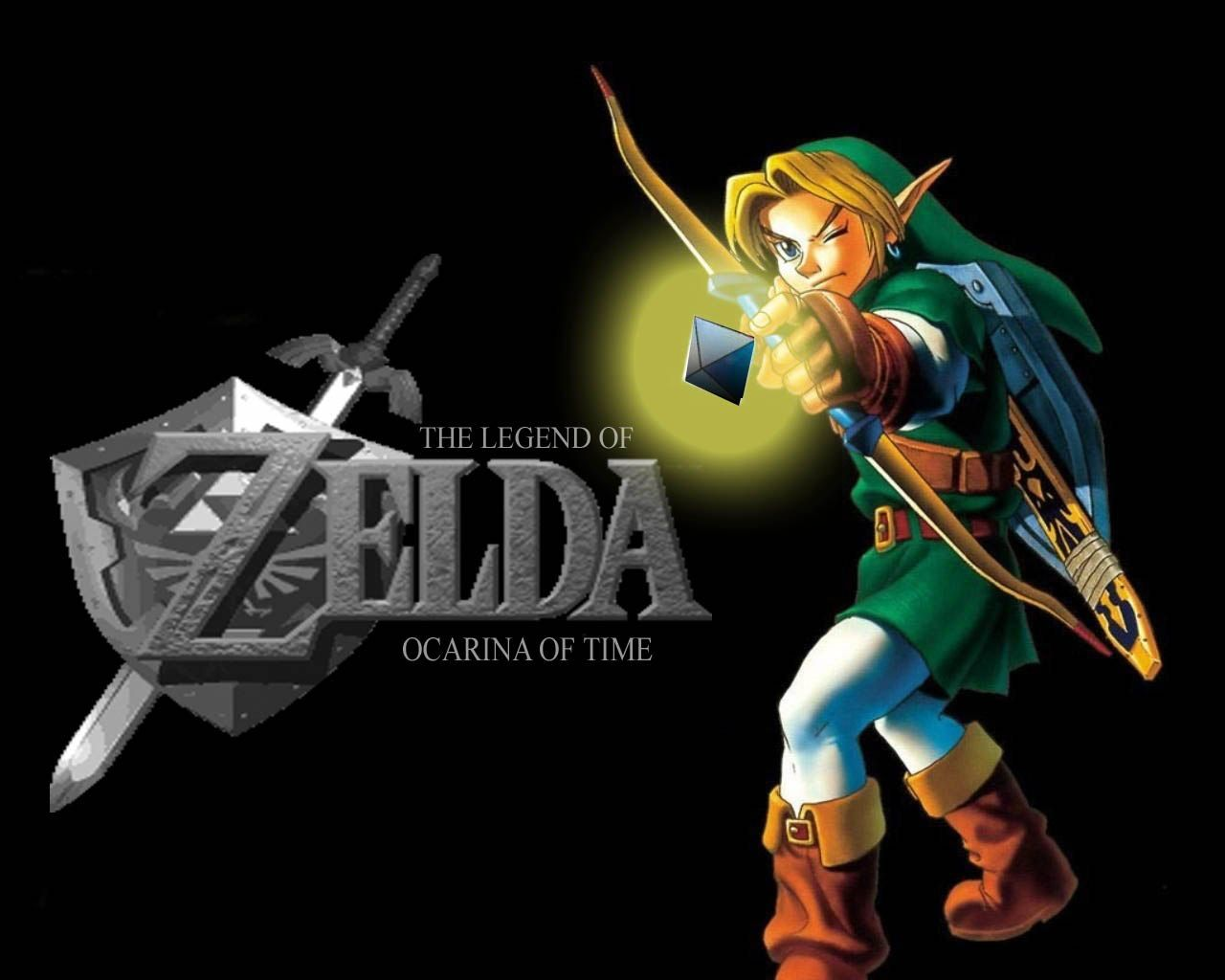 Top HD Legend Of Zelda Ocarina Time Wallpaper Games 1280x1024 Wallpapers 27