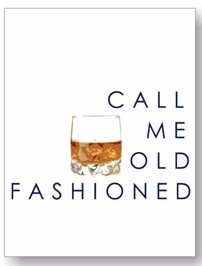 The Call Me Old Fashioned Print Is A Katie Kime Classic Our Most