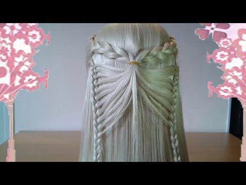 Nudo Chino y Esterillado o Tejido Canasta - Basquet Weave   Peinados para Niñas   Trenzas y Peinados - YouTube