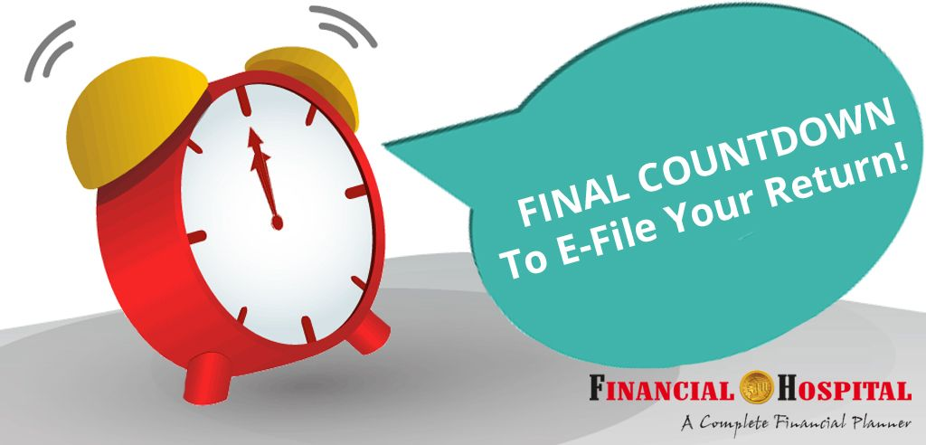 Income Tax Return Final Countdown With Just 24hrs Left For Filing Your Income Tax Return The Rush Is Immin Income Tax Return Financial Planning Income Tax