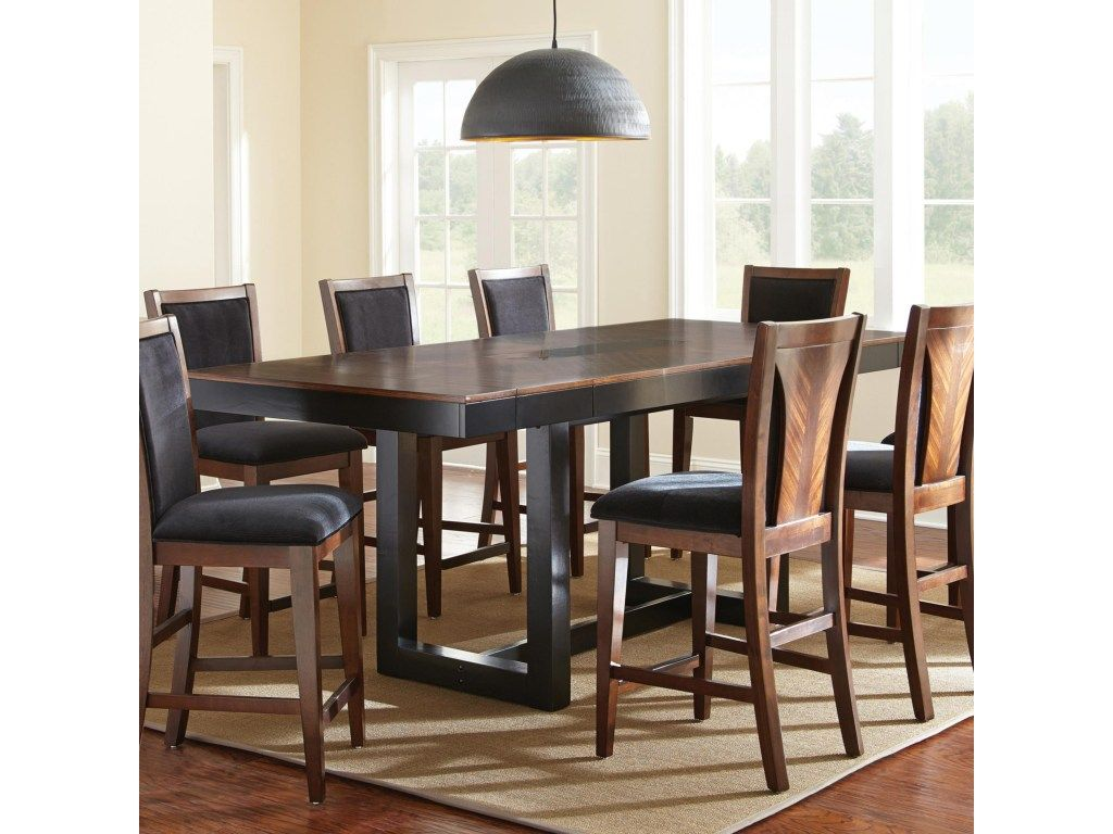 Julian Counter Height Dining Table With Granite Insert   Morris Home   Pub  Tables