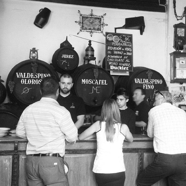 La esencia del Jerez.  The Sherry essence at www.maridajerez.com #sherrywine #sherry #travel #andalucia #tours #winevisits #winecellar #sherrylovers #spain #foodandwine #foodies