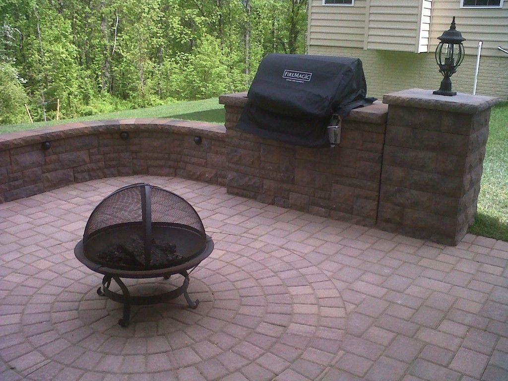 Maryland Patio Contractor North American Deck And Patio Concrete Patio Cost Brick Paver Patio Patio Builders