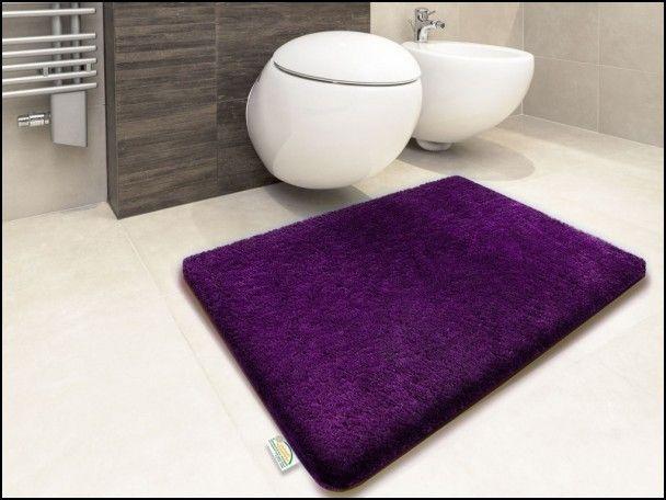 Eggplant Bath Rugs