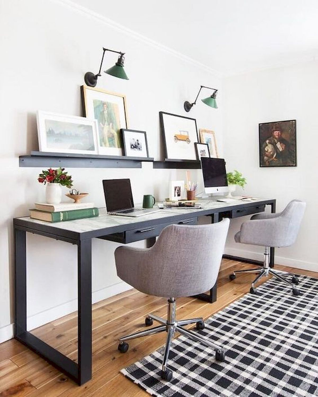 55 Incredible Diy Office Desk Design Ideas And Decor 21 Home Office Design Home Office Decor Office Desk Designs