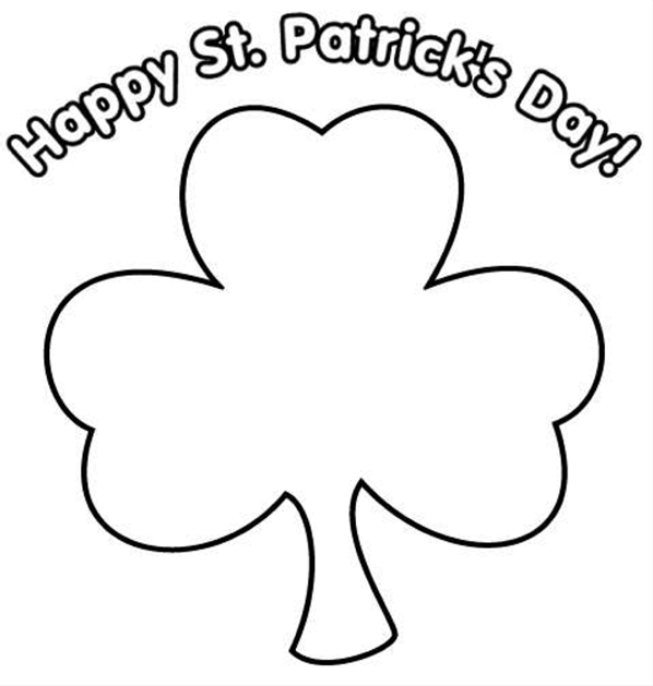 Print coloring page and book, Happy St Patrick\'s Day Printable for ...