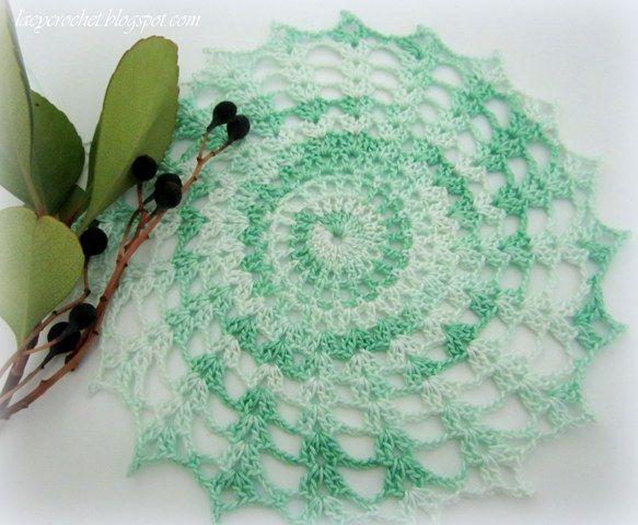 Free Easy Crochet Dollies Free Doily Patterns Crochet Dolli