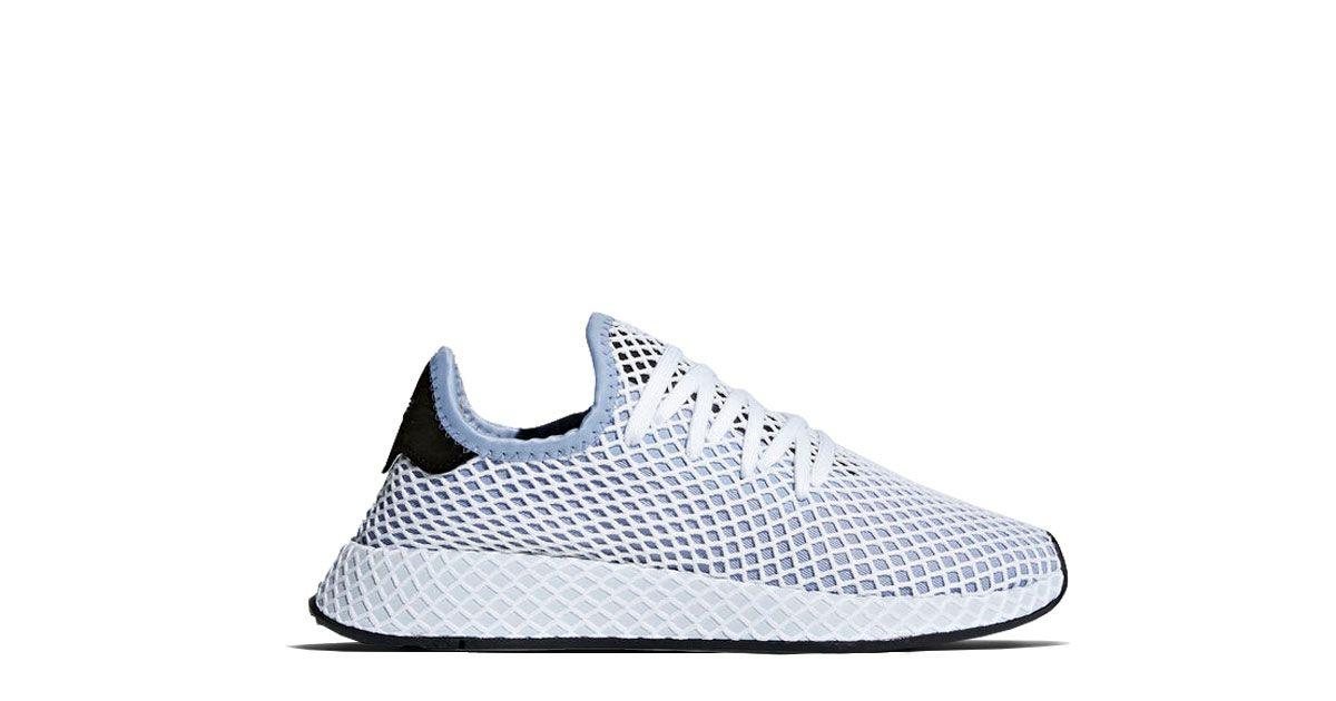 0d752a3da35f1 Adidas Originals Deerupt Runner Chalk Blue Release  27.04.2018 Colorway  Chalk  Blue