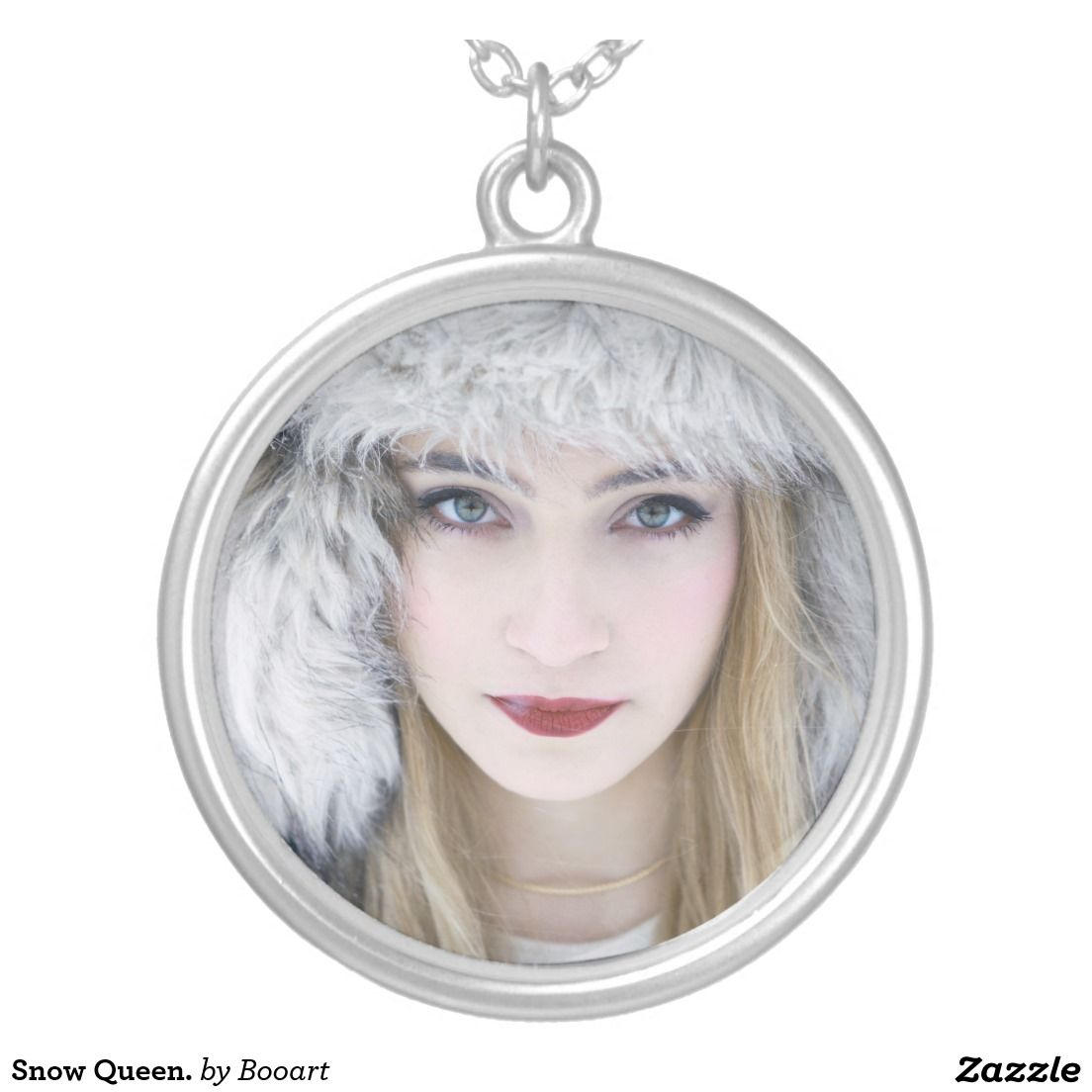 Snow Queen Diamontrigue Jewelry: Snow Queen, Featured Jewelry, Locket Necklace