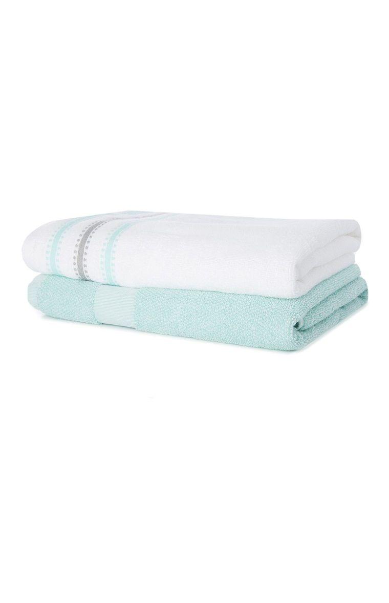 Fardo de 2 toallas de baño   Baños   Pinterest   Toallas de baño ...