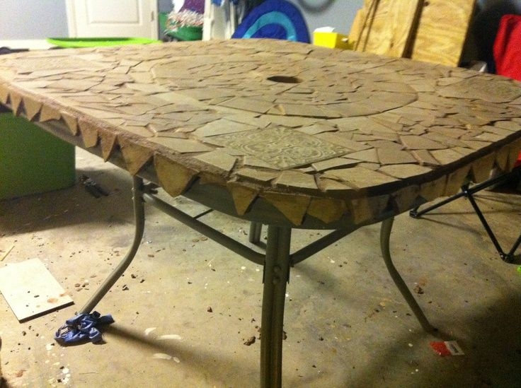 Broken Glass Patio Tables Glass Top Patio Table That Was Broken