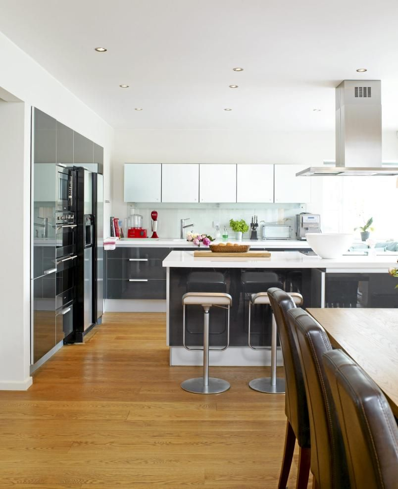 Custom Kitchen Cabinets- Sapele natural wood   MMM... Materials ...