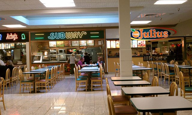 Southern Hills Mall Sioux City Iowa Subway Arby S Orange Julius