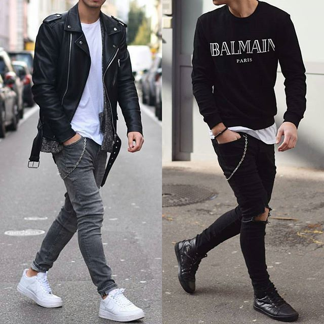 Left Or Right Via Higheststreetfashion By Ianna27 Follow Higheststreetfashion Styl Meski Moda I Styl