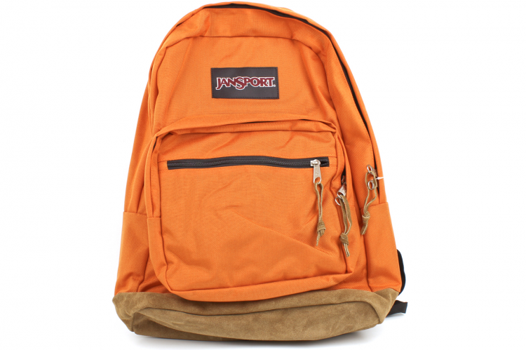 JANSPORT Right Pack Backpack TYP7 9FJ Tiger Orange Description ...